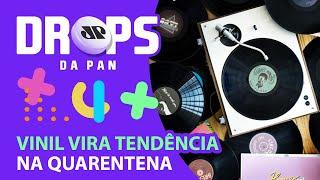 Drops da Pan: Discos de vinil vendem mais que CDs nos Estados Unidos