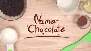 สอนทำเค้ก Nama Chocolate