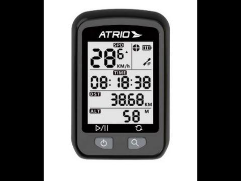Review Ciclocomputador Atrio Iron Bi091 GPS Velocimetro Bike - TioChicoShop
