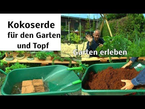 Kokoserde für den Garten und Topfpflanzen vorbereiten Inspirationen aus dem Garten