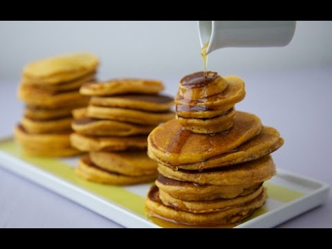 Video Sweet Potato Pancakes - Healthy Breakfast Recipes - Weelicious