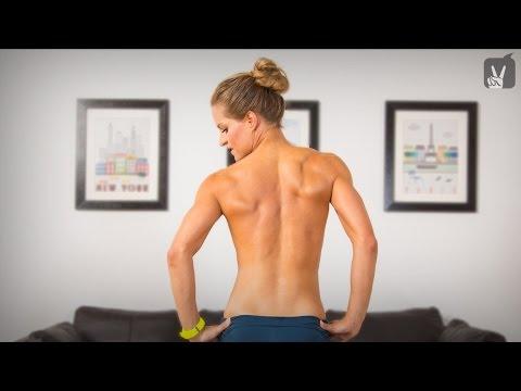 Wunden Rücken und Becken