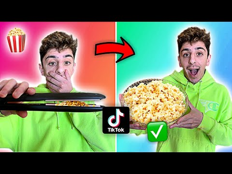 Download We Tested VIRAL TikTok Life Hacks... **MIND BLOWING** (Part 3) HD Mp4 3GP Video and MP3