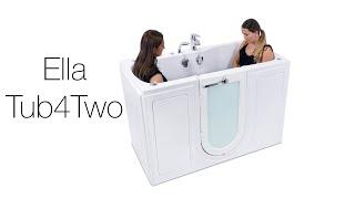 Tub4Two Walk-In Tub From Ella's Bubbles Video