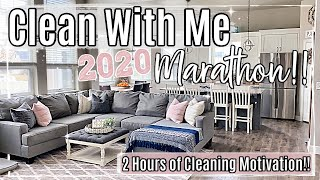 2020 SPRING CLEAN WITH ME MARATHON :: 2 HOURS OF DEEP CLEANING MOTIVATION :: HOMEMAKING INSPIRATION