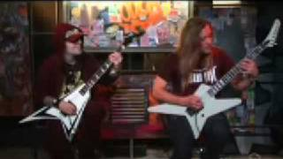 Children of Bodom Blooddrunk Lesson Guitar world Feb 09 Part 1 of 2