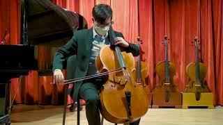 Ian McWilliams cello, Berlin 2021