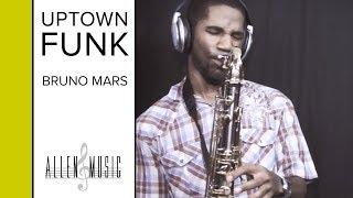Uptown Funk - Bruno Mars - Tenor Saxophone Cover