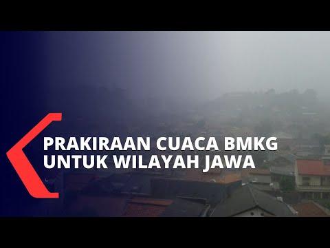 BMKG: Waspada Hujan Ekstrem di Wilayah DKI Jakarta, Banten dan Jawa Barat