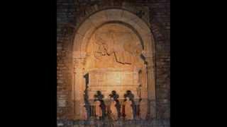 Santa María de Ripoll (Girona), panteón de los condes de Barcelona