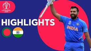 Rohit Hits Ton & Bumrah Masterclass   Bangladesh vs India - Highlights   ICC Cricket World Cup 2019