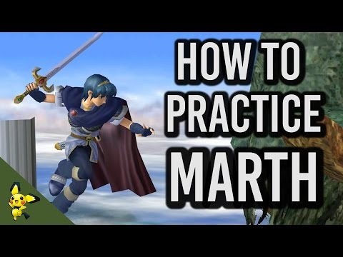 How to Practice Marth - Super Smash Bros. Melee