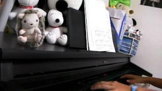 もののけ姫アシタカとサンピアノ演奏