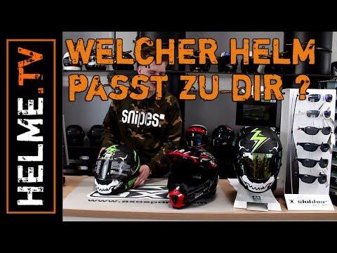 Welcher Helm ist der Richtige für Dich? Unterschiede von Motorradhelmen erklärt | helme-maedl.de