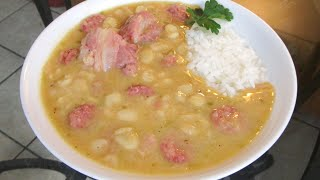 How To Make (Lima) Butter Beans And Rice