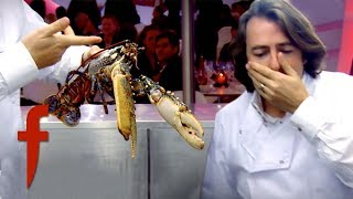 Gordon Ramsay Gets Jonathan Ross To Kill A Lobster! | The F Word