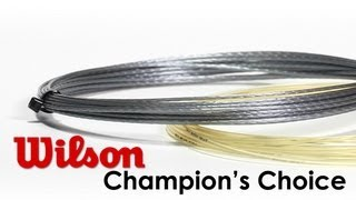 Wilson Champions Choice Hybrid String 12m video