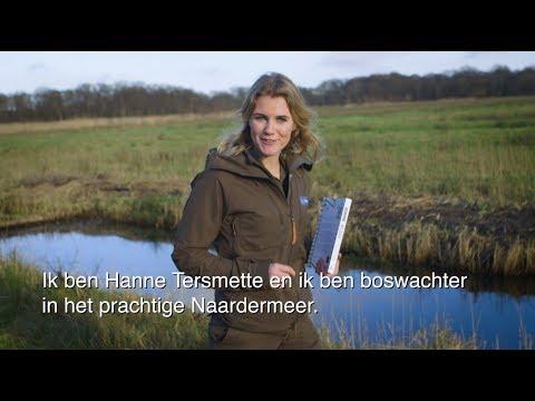 De hort op met boswachter Hanne Tersmette