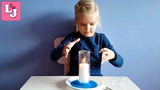 EXPERIMENTO!!! La vela se apaga y el agua sube. EXPERIMENTOS CASEROS PARA NIÑOS