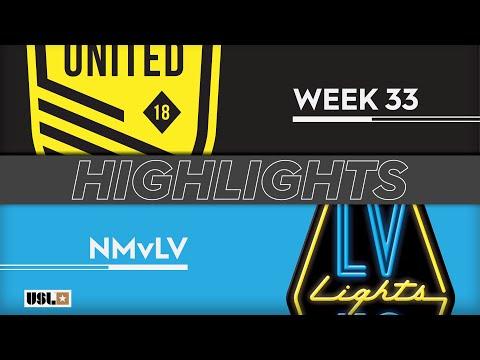 New Mexico United - Las Vegas Lights 2:0. Видеообзор матча 20.10.2019. Видео голов и опасных моментов игры