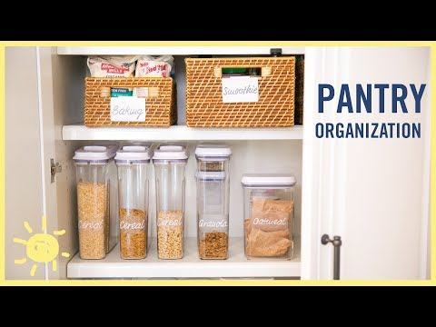 ORGANIZE | Amazing Pantry Makeover!