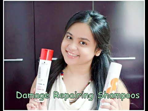DAMAGE REPAIR SHAMPOOS | SCHWARZKOPF vs TONI & GUY REVIEWS AND COMPARISONS
