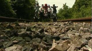 preview picture of video 'Vélorail de La Ferté Gaucher, Seine et Marne 77320'