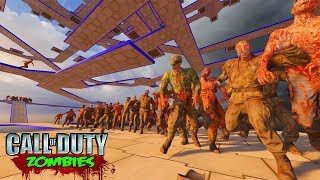 OCTOGONAL ASCENSION 2.0 (INSANELY HARD MAP) - Call of Duty Black Ops 3 Custom Zombies Gameplay