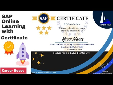 Sap Online Course | Free Sap Training Courses with Certificate ...