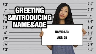 How To Tell Your Name & Age in Vietnamese