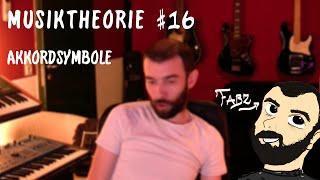 MUSIKTHEORIE #16 - Akkordsymbole
