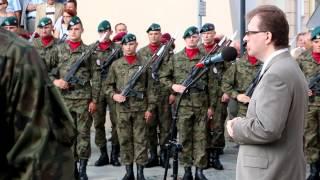 Uroczystości z okazji Dnia Wojska Polskiego w Krośnie