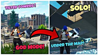 Fortnite God Mode Glitch On Tilted Towers (Under The Map) Fortnite Glitches Season 5 PS4/Xbox 2018