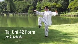 Tai Chi 42 Form (42式太极拳)