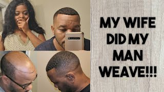 AMAZING Man Weave Transformation | Full Detailed Tutorial
