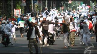 Ratusan Polisi Amankan Sidang FPI Tolak Ahok