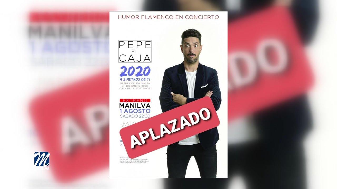 Se aplaza la actuación de Pepe El Caja