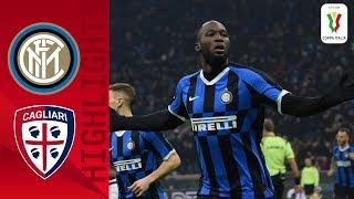 Inter 4-1 Cagliari   Lukaku brace helps hosts into quarter-finals   Round of 16   Coppa Italia