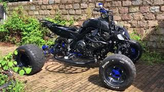 Custom street legal Quad for sale 1000cc r1 engine - Самые