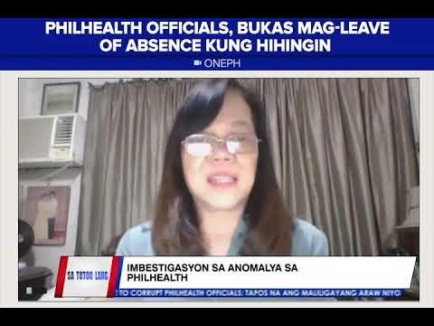 [News5]  PhilHealth spokesperson, hinamon ang mga naga akusa na magpakita ng pruweba
