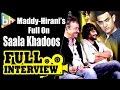 R Madhavan | Rajkumar Hirani | Saala Khadoos | Aamir Khan | Exclusive Full Interview