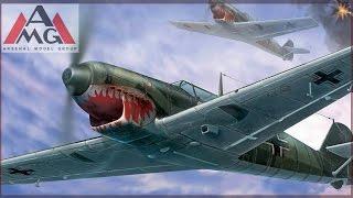 FULL VIDEO BUILD MESSERSCHMITT Bf 109C by AMG.