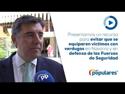 Presentamos un recurso para evitar que se equiparen víctimas con verdugos en Navarra