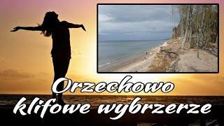 Orzechowo - klifowe wybrzeże