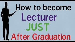 How to Become Lecturer After graduation ll Salary ll Eligibility ll Exam ll Meritech Education