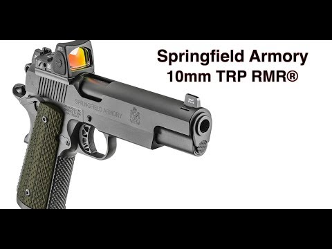 10mm Stopping Power In Springfield's TRP Pistol Series