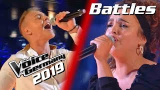 Katy Perry   Never Really Over (Nastja Isabella Vs. Erwin) | The Voice Of Germany 2019 | Battles