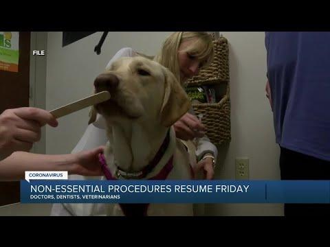 Non-essential procedures resume Friday