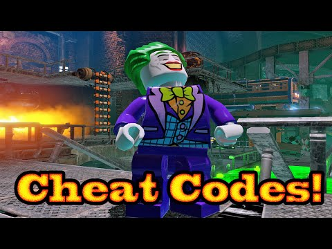 Lego Batman 3 Character Cheat Codes! | MrGamesRus MSHSO Blog