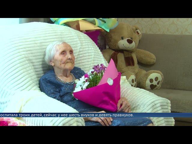 Ангарчанка отпраздновала 100-летие